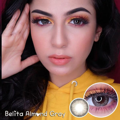 EOS Belita Almond Gray - EOS - Softlens Queen - Natural Colored Contact Lenses