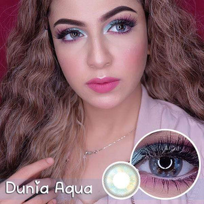 EOS Dunia Aqua - EOS - Softlens Queen - Natural Colored Contact Lenses