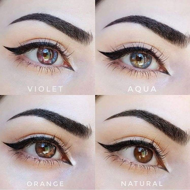 EOS Dunia Violet - EOS - Softlens Queen - Natural Colored Contact Lenses