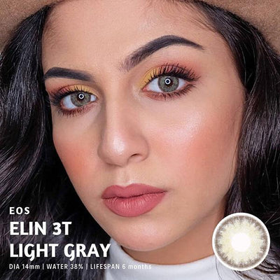Eos Elin 3T Light Gray - EOS - Softlens Queen - Natural Colored Contact Lenses