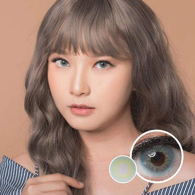 Eos Fuzzy Pop Gray - EOS - Softlens Queen - Natural Colored Contact Lenses