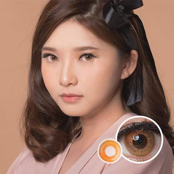 Eos Gradation Brown - EOS - Softlens Queen - Natural Colored Contact Lenses
