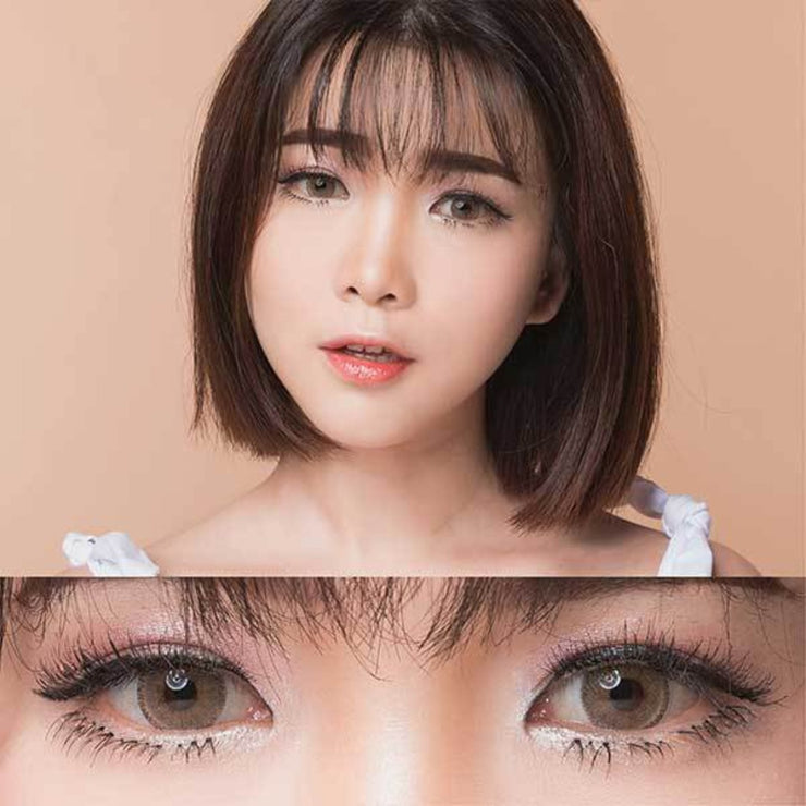 EOS Sole Three Hazel - EOS - Softlens Queen - Natural Colored Contact Lenses