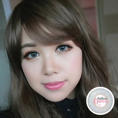 Eye Candy Belle Gray - Eye Candy - Softlens Queen - Natural Colored Contact Lenses