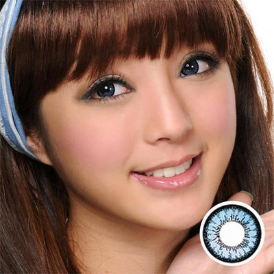 GEO Angel Blue CM832 - Geo Medical - Softlens Queen - Natural Colored Contact Lenses