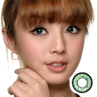 GEO Angel Green CM833 - Geo Medical - Softlens Queen - Natural Colored Contact Lenses