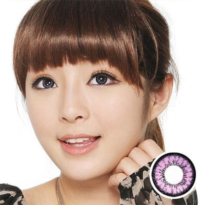 GEO Angel Violet CM831 - Geo Medical - Softlens Queen - Natural Colored Contact Lenses
