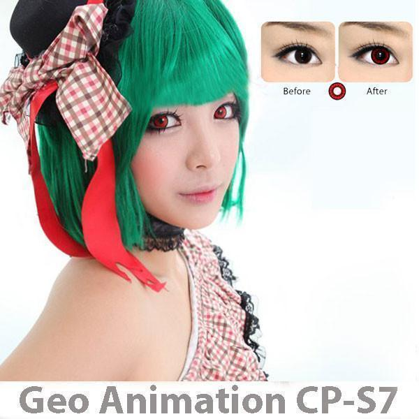 GEO Anime CP-S7 - Anime - Softlens Queen - Natural Colored Contact Lenses