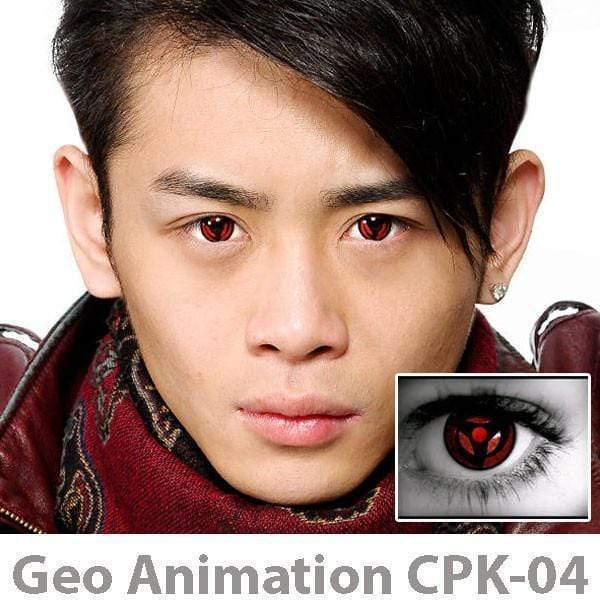 GEO Anime Naruto CPK4 - Anime - Softlens Queen - Natural Colored Contact Lenses