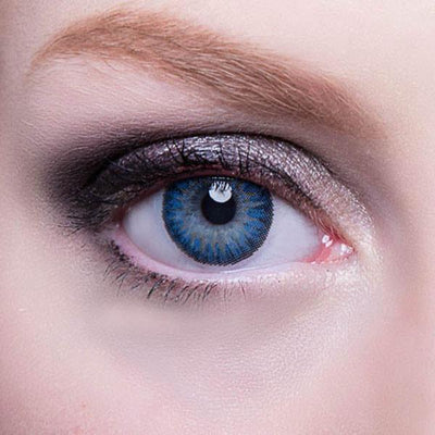 GEO Berry Holic Blue - Geo Medical - Softlens Queen - Natural Colored Contact Lenses