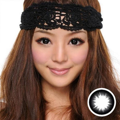 GEO Extra Magic Black XCK-105 - Geo Medical - Softlens Queen - Natural Colored Contact Lenses