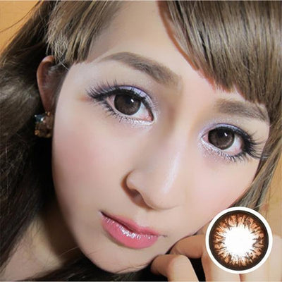 GEO Grang Grang Choco HC246 - Geo Medical - Softlens Queen - Natural Colored Contact Lenses
