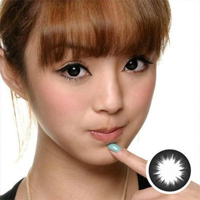 Geo Magic Black 105 - Geo Medical - Softlens Queen - Natural Colored Contact Lenses