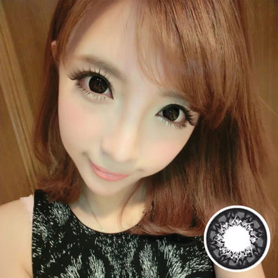 Geo Mimi Cafe WMM500 - Geo Medical - Softlens Queen - Natural Colored Contact Lenses