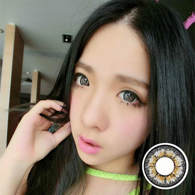 Geo Mimi Cafe WMM505 - Geo Medical - Softlens Queen - Natural Colored Contact Lenses
