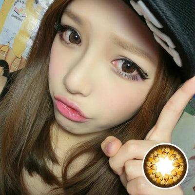 Geo Mimi Cafe WMM506 - Geo Medical - Softlens Queen - Natural Colored Contact Lenses