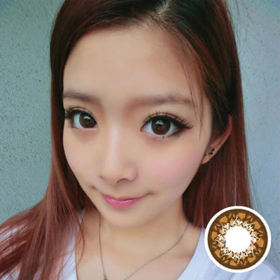 Geo Mimi Cafe WMM600 - Geo Medical - Softlens Queen - Natural Colored Contact Lenses