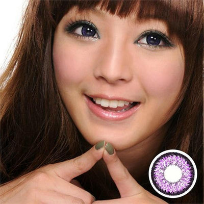 GEO Super Nudy Violet - Geo Medical - Softlens Queen - Natural Colored Contact Lenses