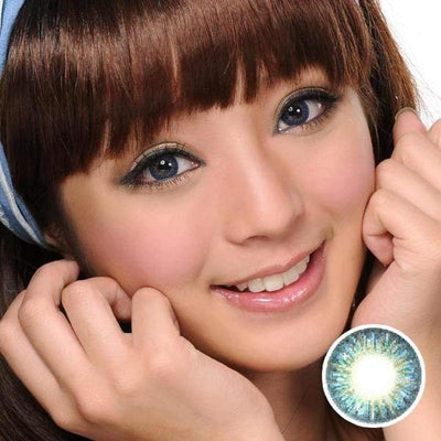 GEO Tri-Color Blue - Geo Medical - Softlens Queen - Natural Colored Contact Lenses