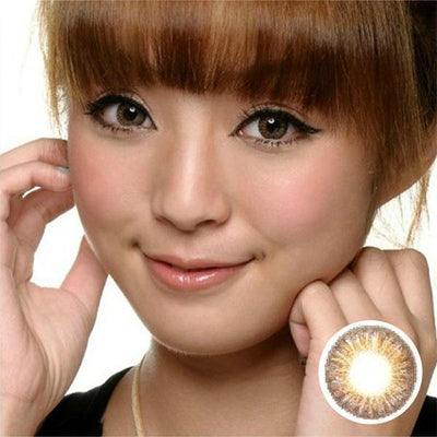 GEO Tri-Color Brown - Geo Medical - Softlens Queen - Natural Colored Contact Lenses