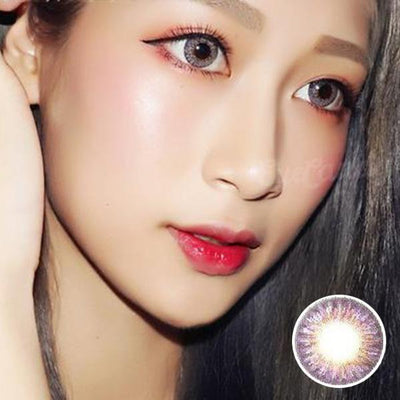 GEO Tri-Color Violet - Geo Medical - Softlens Queen - Natural Colored Contact Lenses
