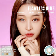 Jewel Flawless SP Blue - Jewel Lens - Softlens Queen - Natural Colored Contact Lenses