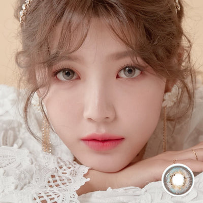 Jewel Flawless SP Radiant Gray - Jewel Lens - Softlens Queen - Natural Colored Contact Lenses
