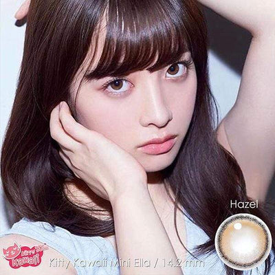 Kitty Mini Ella Hazel - Kitty Kawaii - Softlens Queen - Natural Colored Contact Lenses