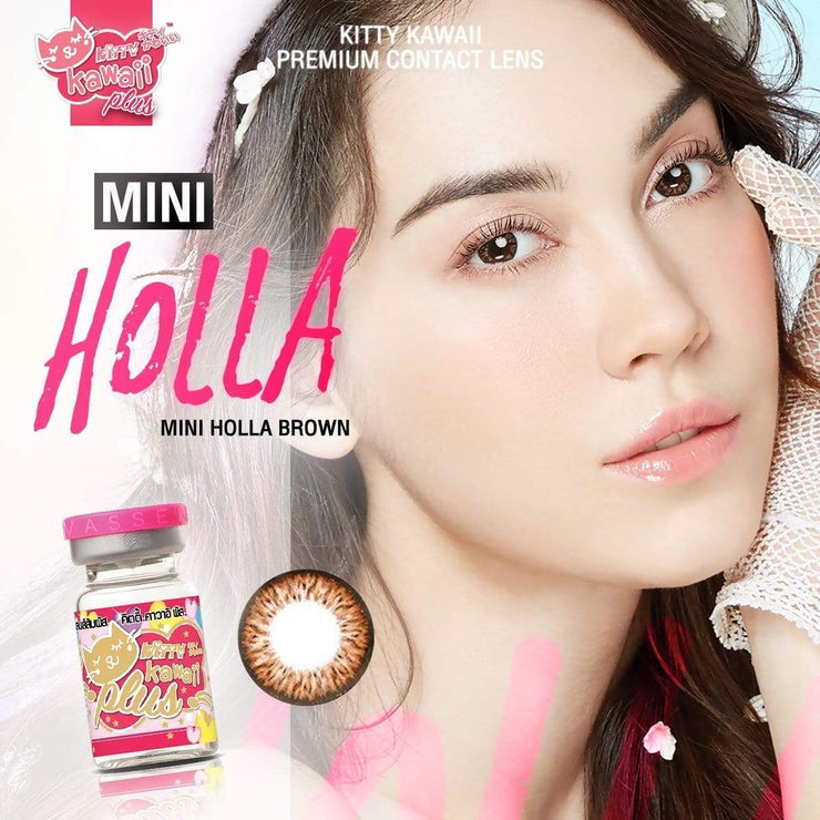 Kitty Mini Holla Brown - Kitty Kawaii - Softlens Queen - Natural Colored Contact Lenses
