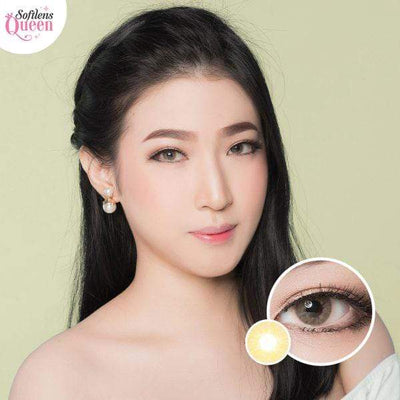 Kitty Mini Milin Brown - Kitty Kawaii - Softlens Queen - Natural Colored Contact Lenses