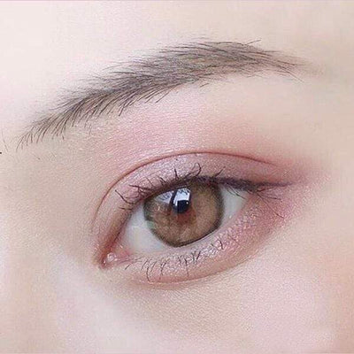 Kitty Mini Olivia Light Brown - Kitty Kawaii - Softlens Queen - Natural Colored Contact Lenses