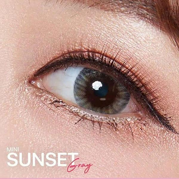 Kitty Mini Sunset Gray - Kitty Kawaii - Softlens Queen - Natural Colored Contact Lenses