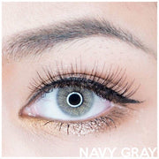 Kitty Navy Gray - Kitty Kawaii - Softlens Queen - Natural Colored Contact Lenses