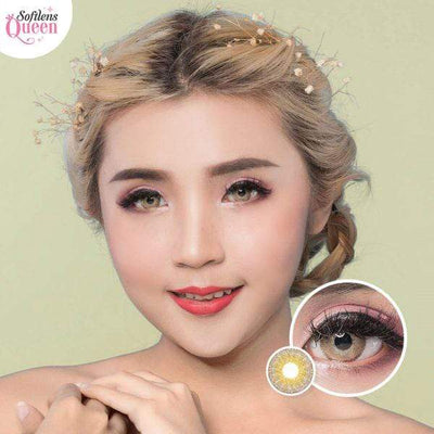 Latin Brown - Latin - Softlens Queen - Natural Colored Contact Lenses