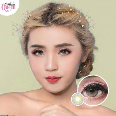 Latin Gray - Latin - Softlens Queen - Natural Colored Contact Lenses