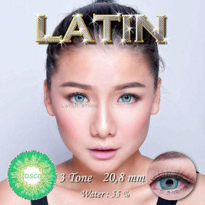 Latin Tosca - Latin - Softlens Queen - Natural Colored Contact Lenses