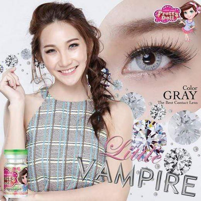 Little Vampire Gray - Pretty Doll - Softlens Queen - Natural Colored Contact Lenses