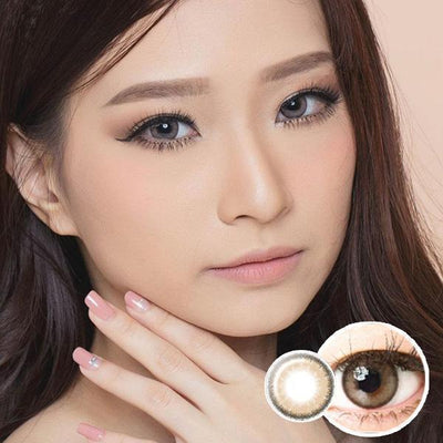 Luna Natural Cacao - EOS - Softlens Queen - Natural Colored Contact Lenses