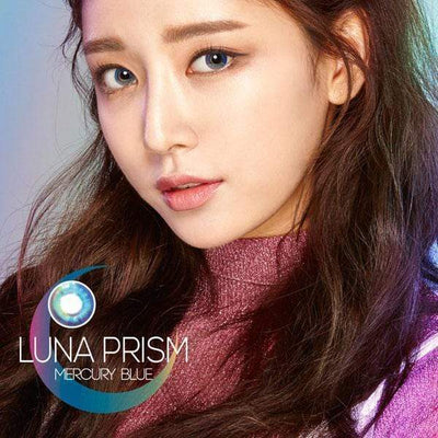 Luna Prism Blue - Sweety Plus - Softlens Queen - Natural Colored Contact Lenses