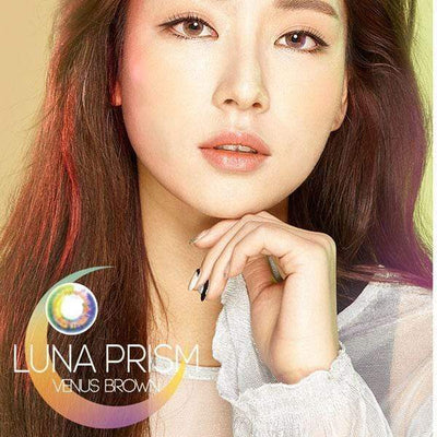 Luna Prism Brown - Sweety Plus - Softlens Queen - Natural Colored Contact Lenses