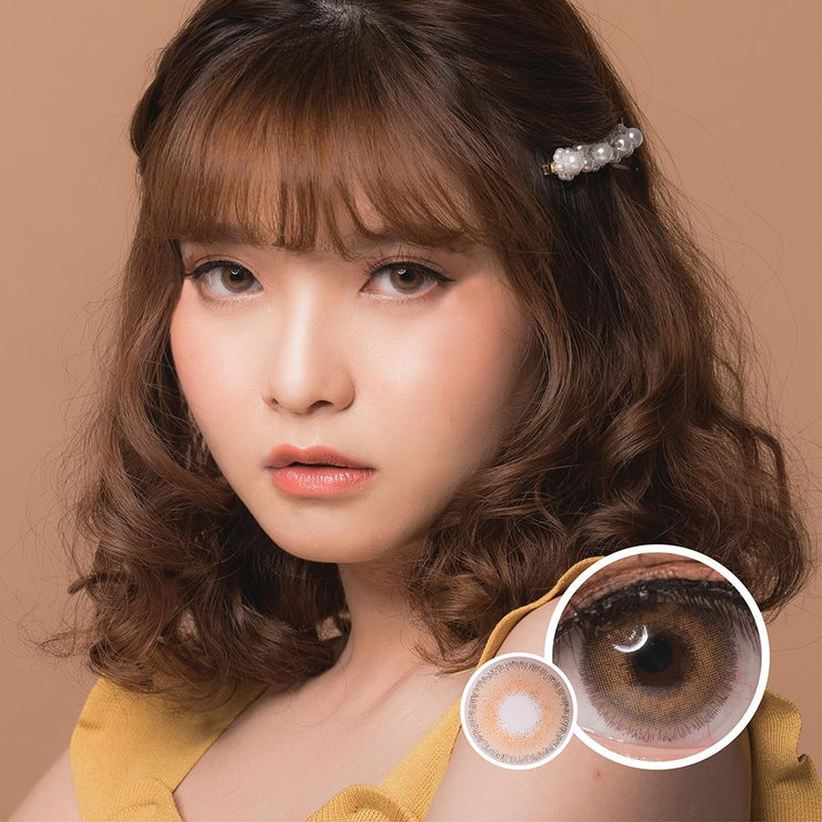 Luxzy Beatrix Brown - Luxzy - Softlens Queen - Natural Colored Contact Lenses