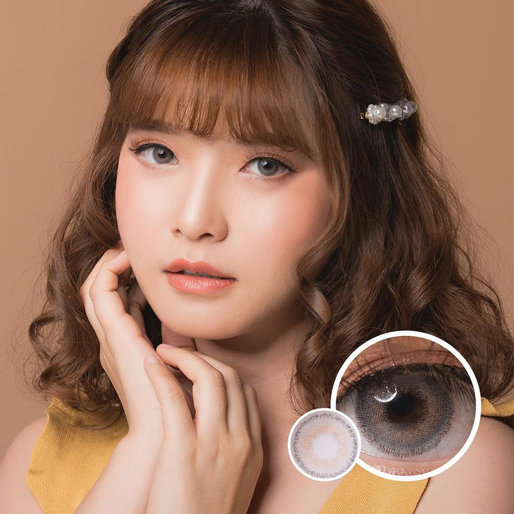 Luxzy Beatrix Gray - Luxzy - Softlens Queen - Natural Colored Contact Lenses