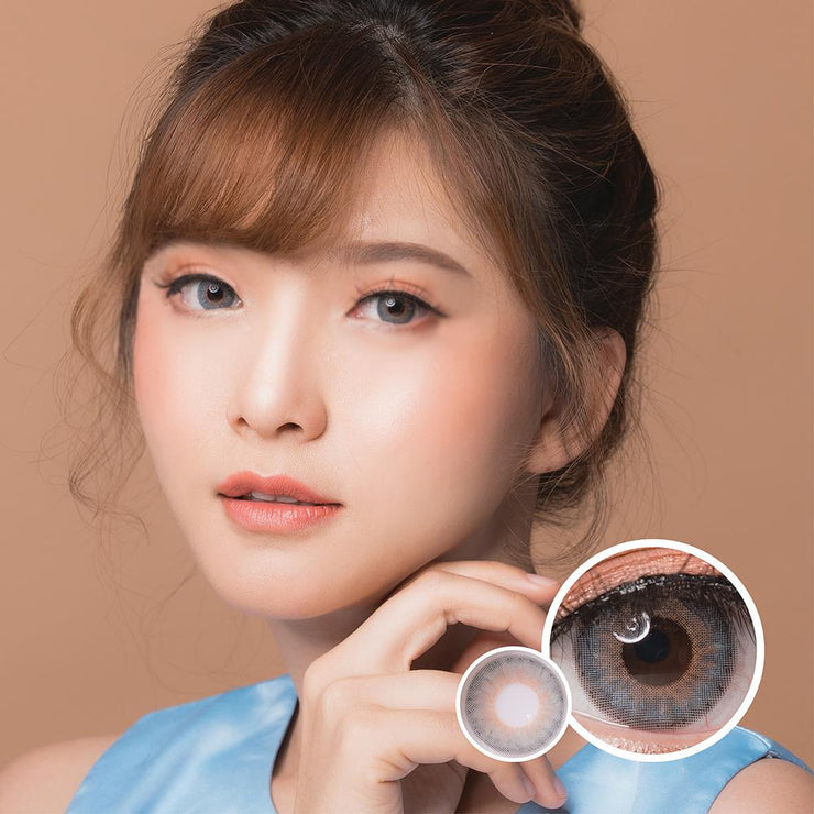 Luxzy Mini Symphony Gray - Luxzy - Softlens Queen - Natural Colored Contact Lenses