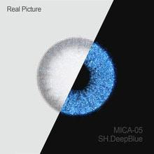 MICA Shimmer Deep Blue - 3C Noble - Softlens Queen - Natural Colored Contact Lenses