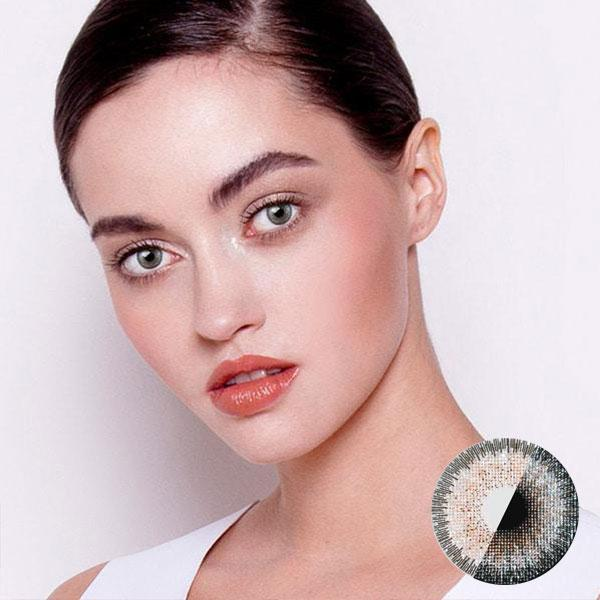 MICA Sparkle Champagne - 3C Noble - Softlens Queen - Natural Colored Contact Lenses