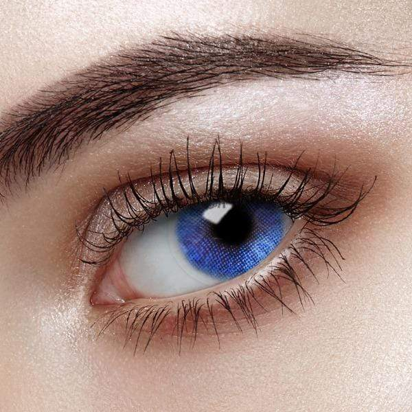 MICA Sparkle Deep Blue - 3C Noble - Softlens Queen - Natural Colored Contact Lenses