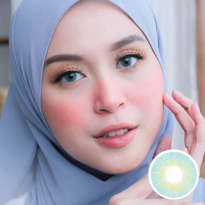 Midroo HD Blue - Midroo - Softlens Queen - Natural Colored Contact Lenses