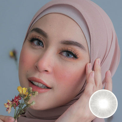 Midroo HD Gray - Midroo - Softlens Queen - Natural Colored Contact Lenses
