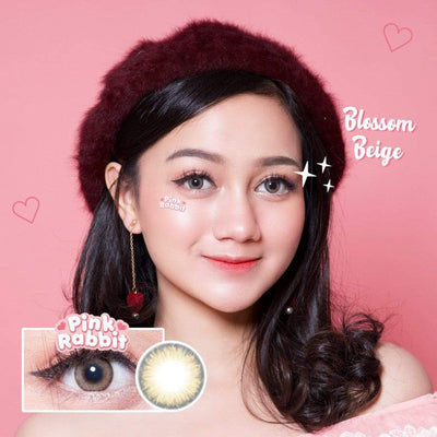Pink Rabbit Blossom Beige - Pink Rabbit - Softlens Queen - Natural Colored Contact Lenses