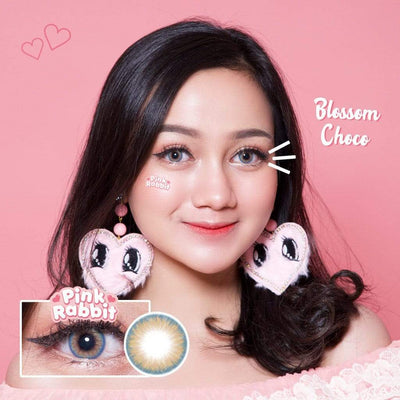 Pink Rabbit Blossom Choco - Pink Rabbit - Softlens Queen - Natural Colored Contact Lenses